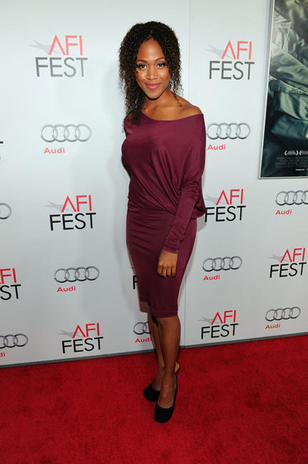 Nicole Beharie at the California premiere of