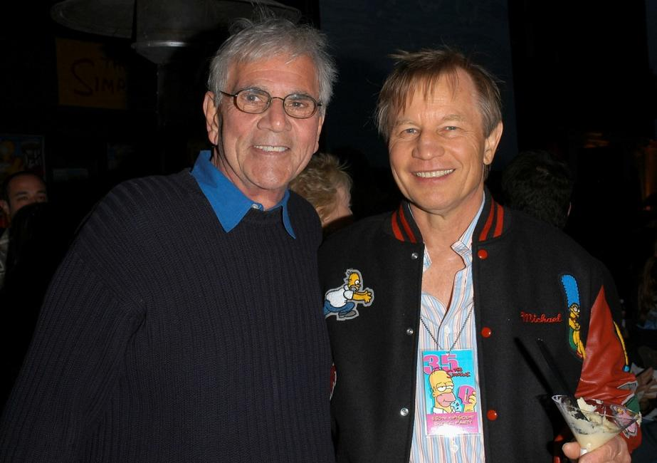 Alex Rocco and Michael York at