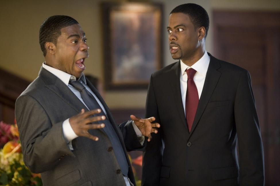 Tracy Morgan and Chris Rock in
