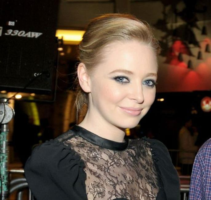 Portia Doubleday at the AFI FEST screening of