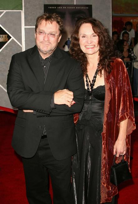 Stephen Root and Beth Graham at the premiere of Miramax Films'