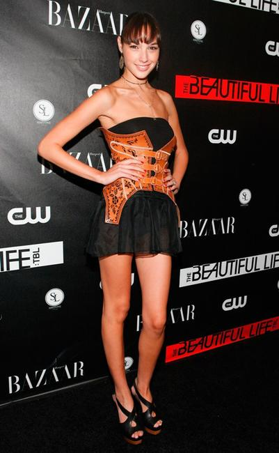 Gal Gadot at the CW Network celebration of its new series