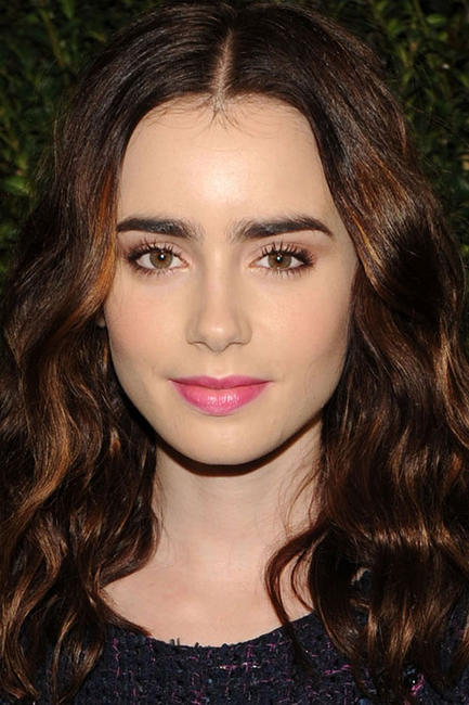 Lily Collins at the Chanel Pre-Oscar Dinner in L.A.