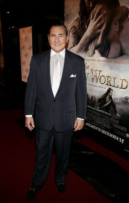 August Schellenberg at the premiere of