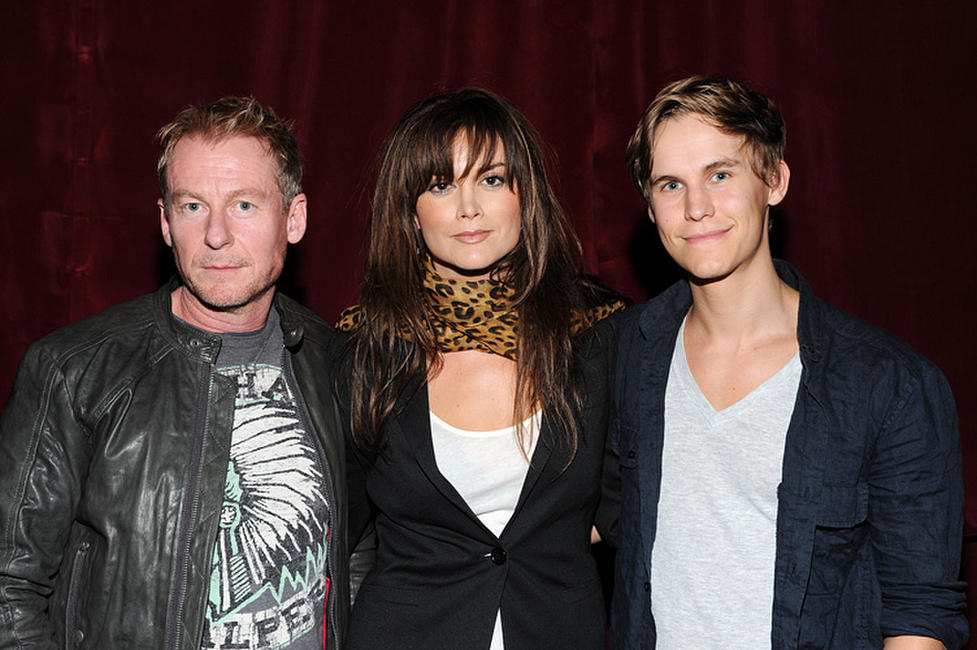 Richard Roxburgh, Alice Parkinson and Rhys Wakefield at the Australians In Film Screening of