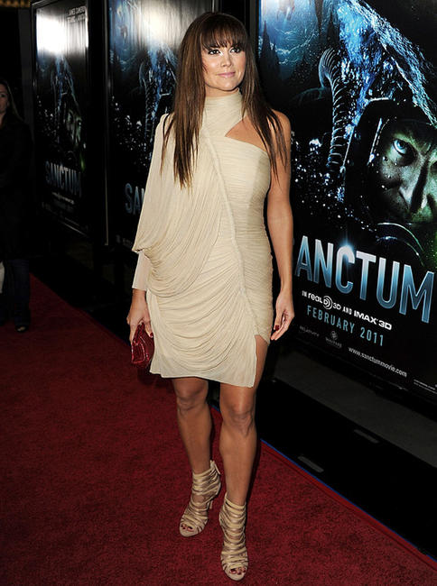 Alice Parkinson at the California premiere of