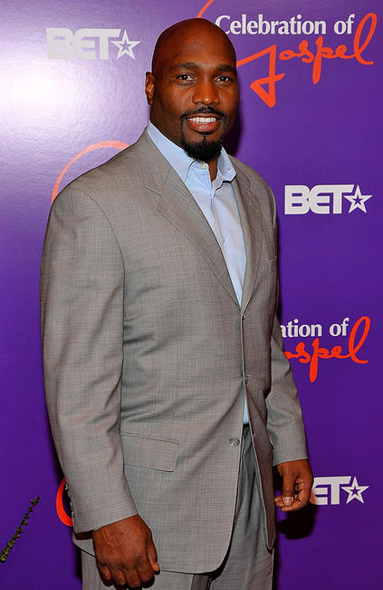 James Black at the 9th annual BET Celebration of Gospel in California.