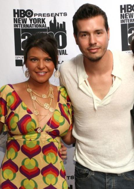 Itati Cantoral and Jon Seda at the New York International Latino Film Festival screening of