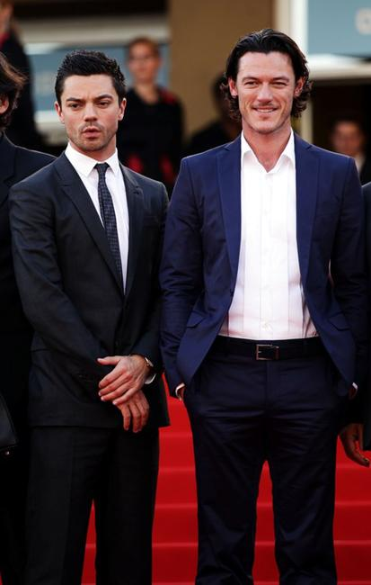 Dominic Cooper and Luke Evans at the 63rd Annual Cannes Film Festival.