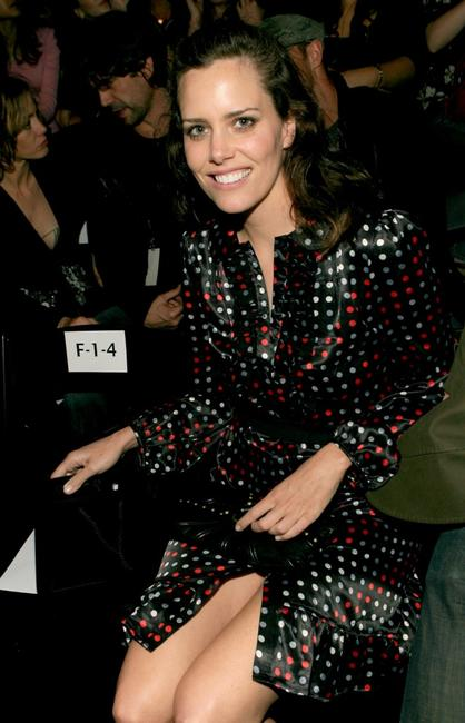 Ione Skye at the Imitation of Christ Fall 2007 fashion show during Mercedes Benz Fashion Week.