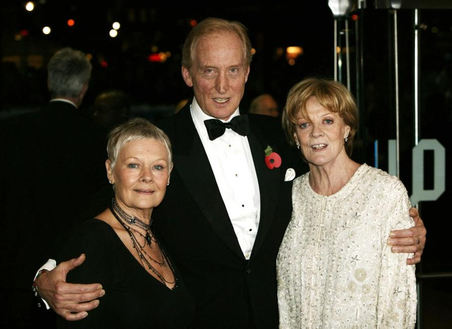 Maggie Smith, dame Judi Dench and Charles Dance at the Cinema and Television Benevolent Fund (CTBF) Royal Film Performance annual charity screening, this year of