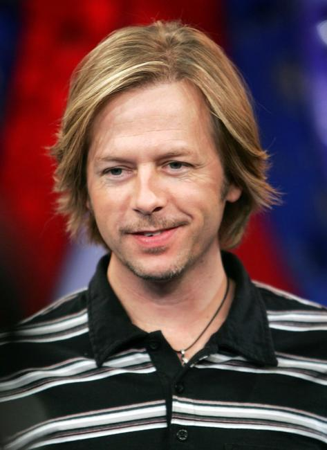 David Spade at the MTV's Total Request Live.