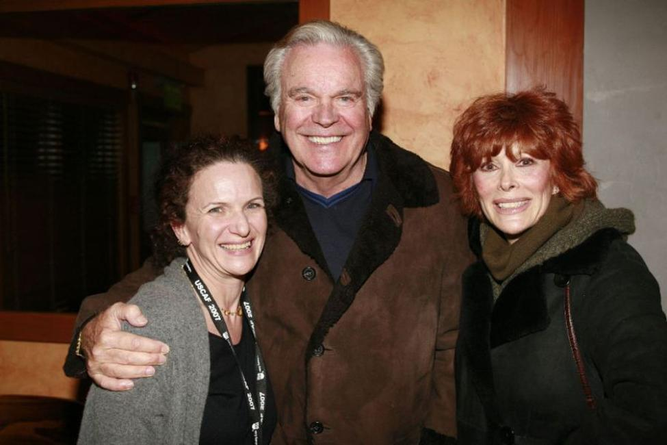 Susan Arons, Richard Wagner and Jill St. John at the Hollywood Reporter reception saluting Don Rickles and John Landis.