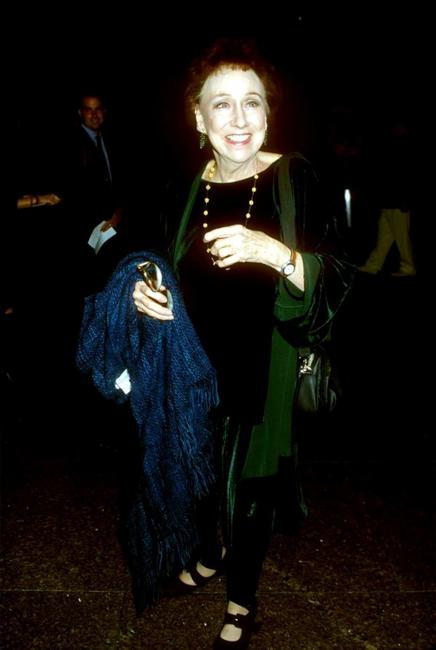 Jean Stapleton at the premiere of