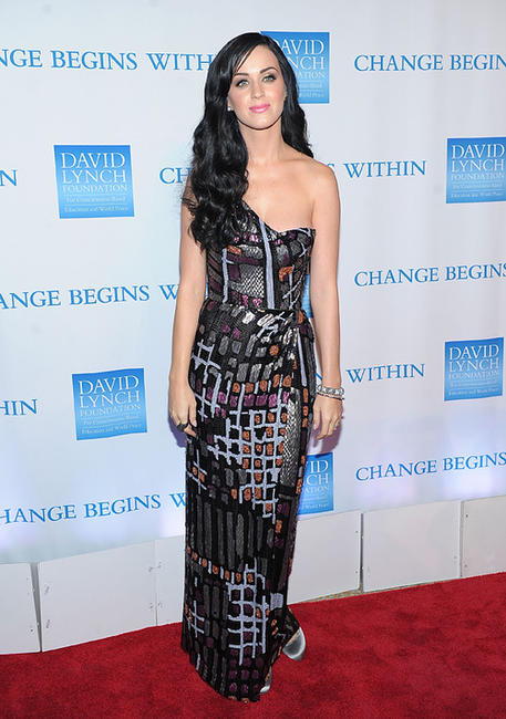 Katy Perry at the 2nd Annual David Lynch Foundation's Change Begins Within Benefit Celebration.