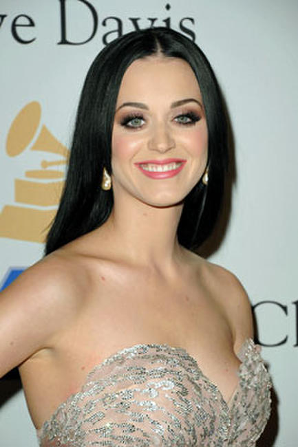 Singer Katy Perry aka Katy Brand arrives at the 2011 Pre-GRAMMY Gala and Salute To Industry Icons Honoring David Geffen.