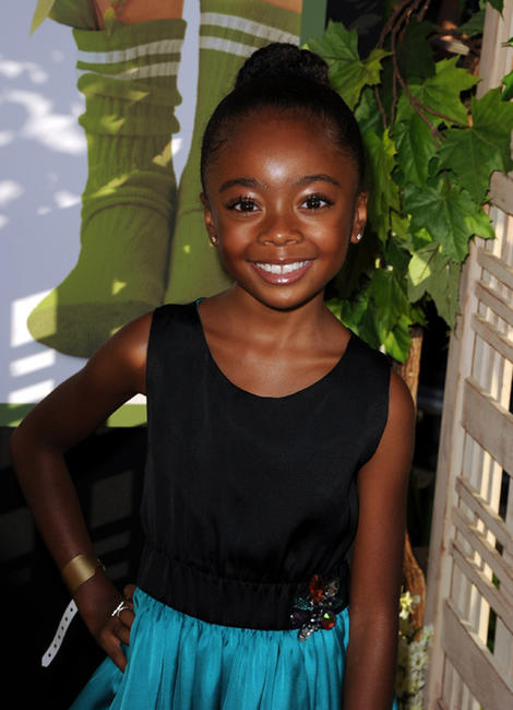Skai Jackson at the California premiere of
