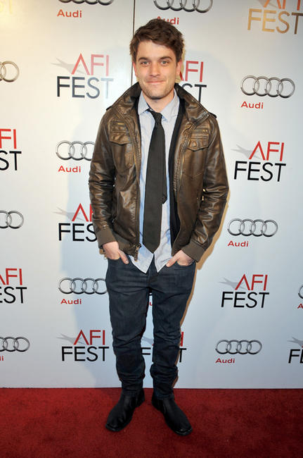 Chase Williamson at the California premiere of