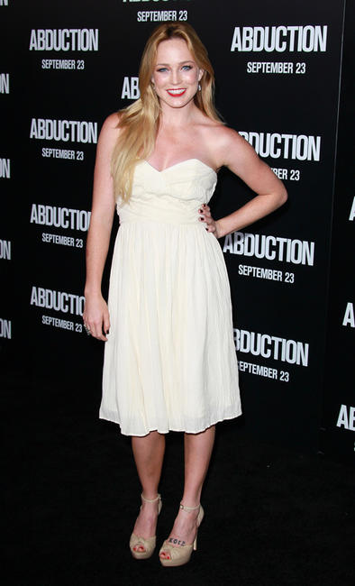 Caity Lotz at the California premiere of