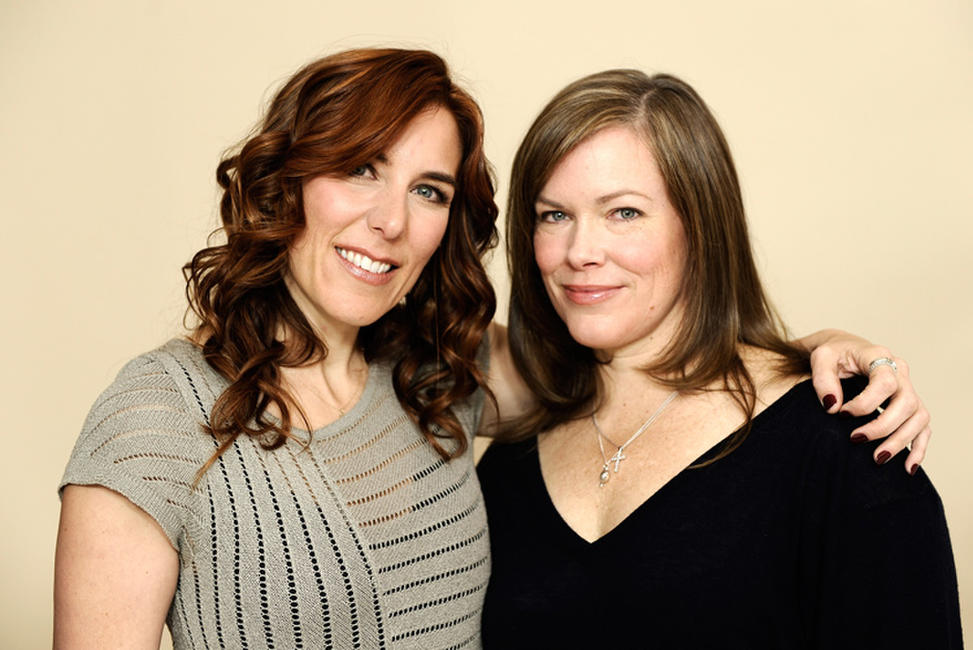 Director Amy Berg and Lorri Davis at the portrait session of