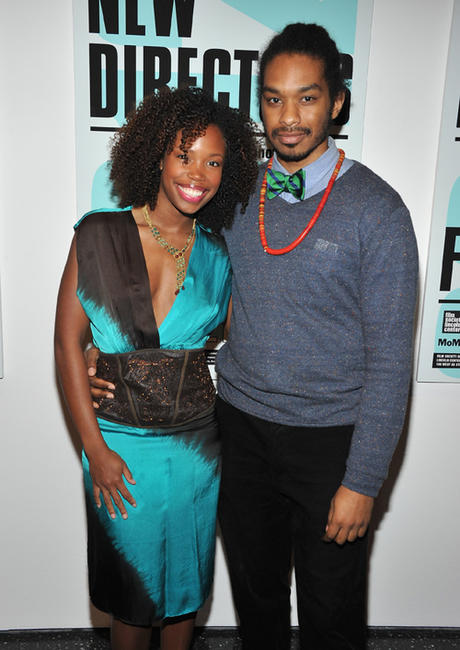 Namik Minter and Terence Nance at the 2012 New Directors/New Films Opening Night Gala.