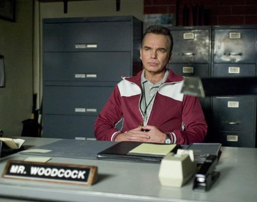 Billy Bob Thornton stars as Mr. Woodcock in