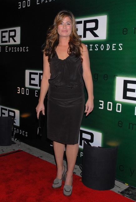 Maura Tierney at the celebration for the 300th episode of