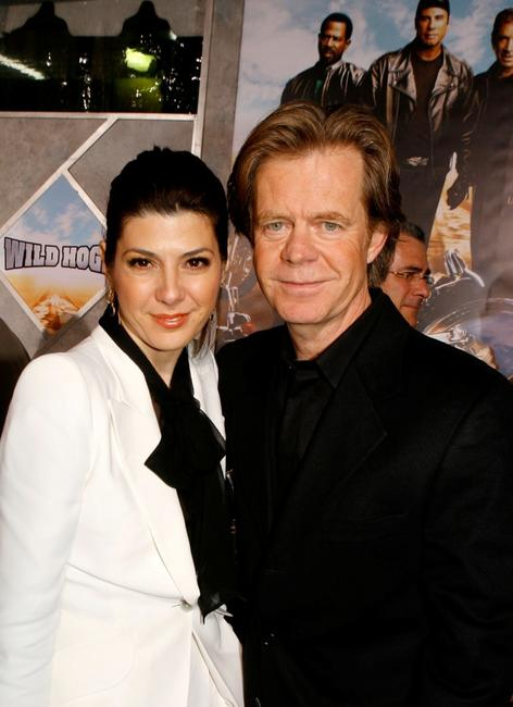 Marisa Tomei and William H. Macy at the premiere of
