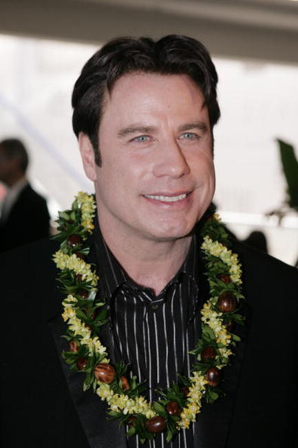John Travolta at a Fund-raiser for Narconon Hawaii at the Honolulu Design Center.