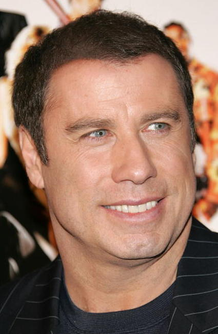 John Travolta at the Hollwood premiere of