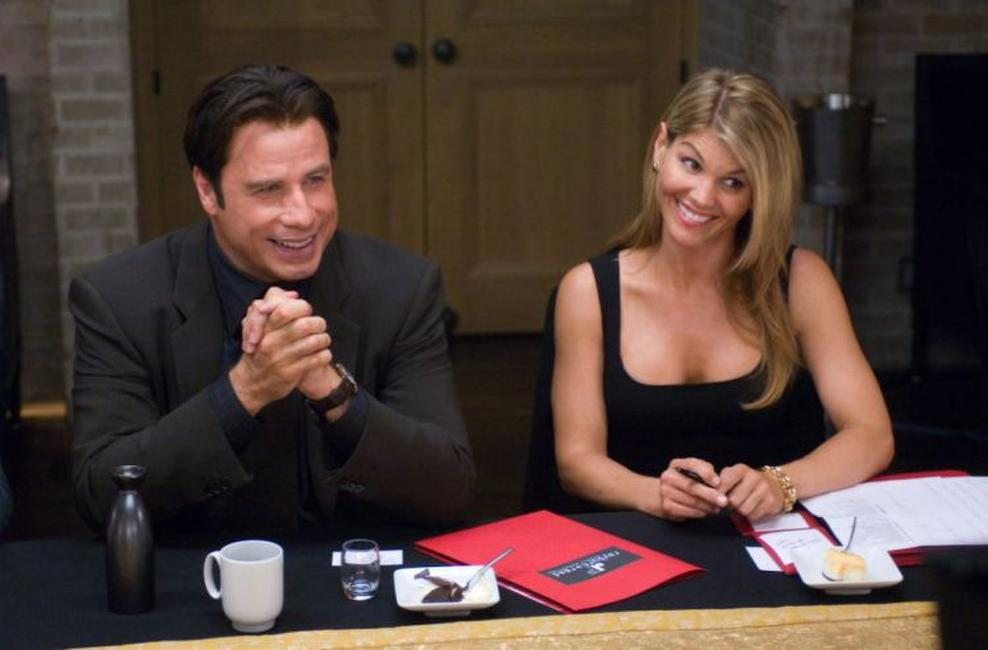 John Travolta and Lori Loughlin in