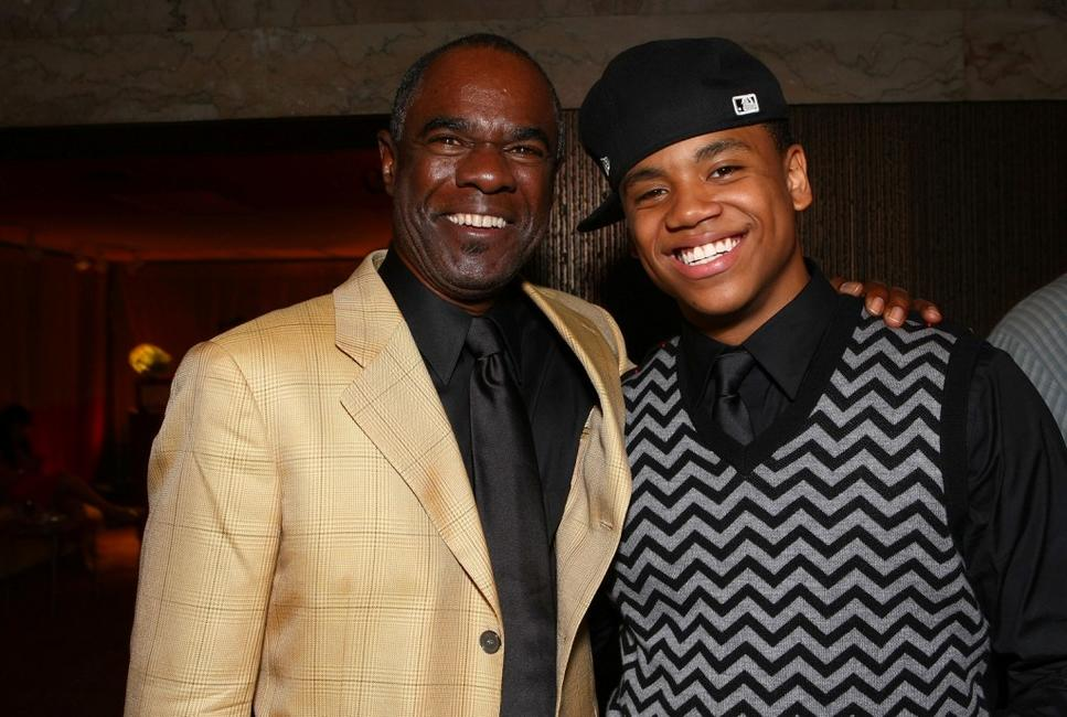 Glynn E. Turman and Tristan Wilds at the Entertainment Weekly's 6th Annual pre-Emmy celebration.