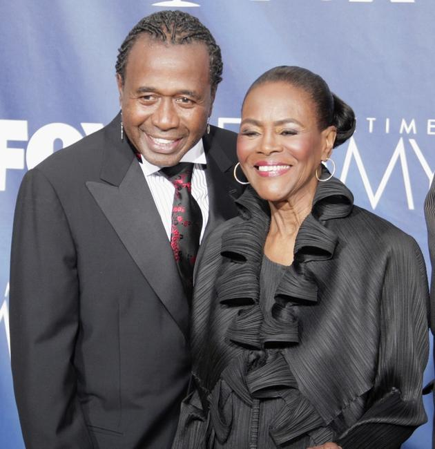 Cicely Tyson and Ben Vereen at the 59th Annual Primetime Emmy Awards.