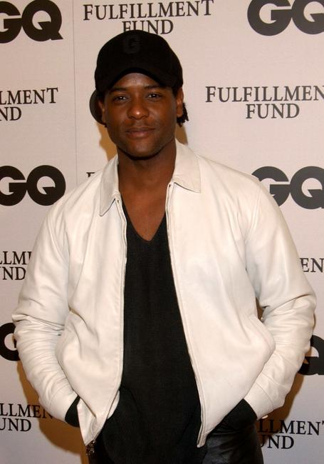 Blair Underwood at the GQ magazine party.