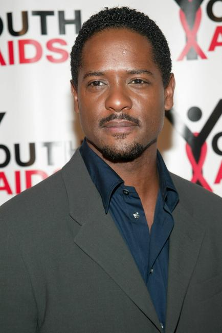 Blair Underwood at the media conference for