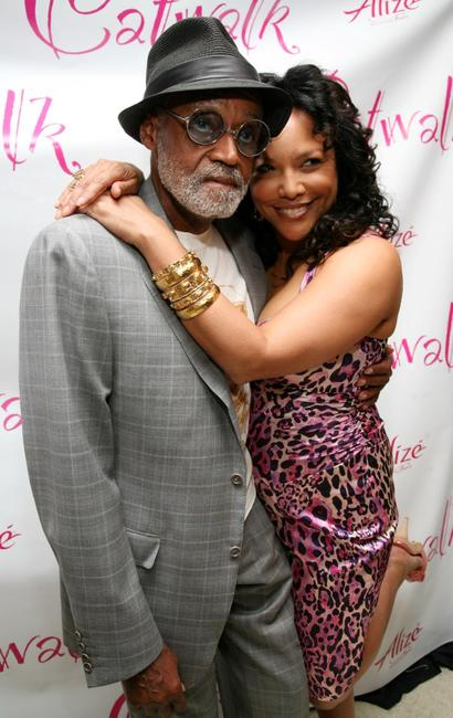 Melvin Van Peebles and Lynn Whitfield at the Deborah Gregory's book release party of