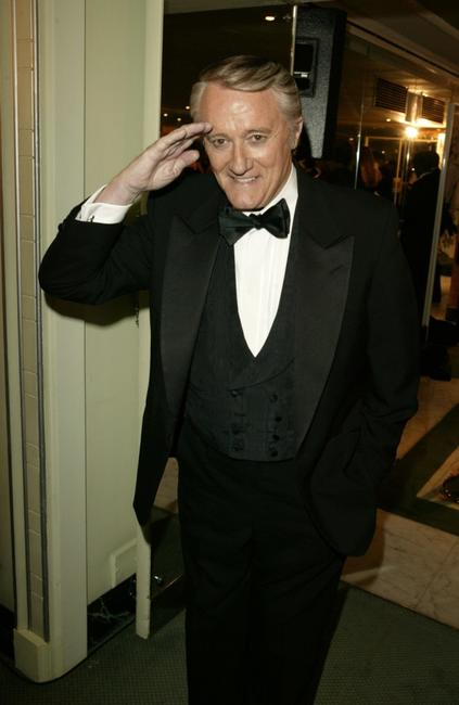 Robert Vaughn at the TV Quick Awards 2004.