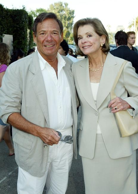 Jessica Walter and husband Ron Leibman at the cocktail party and script reading for FOX-TV's