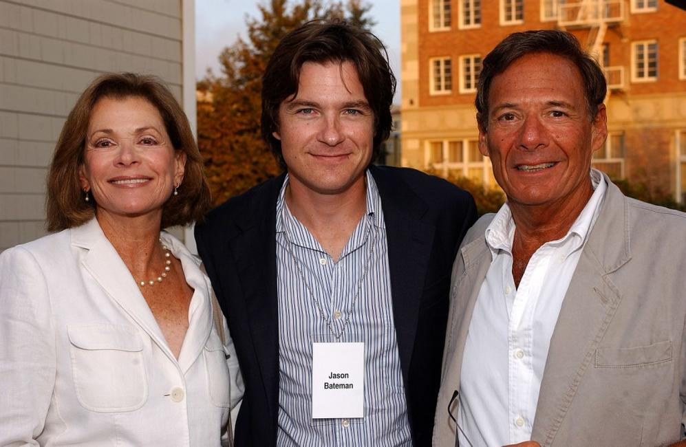Jessica Walter, Jason Bateman and Ron Leibman at the Twentieth Century Fox Television's New Season Party.