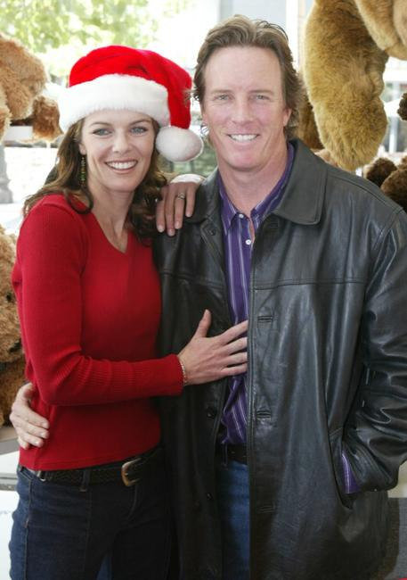 Susan Walters and Linden Ashby at the Young and the Restless