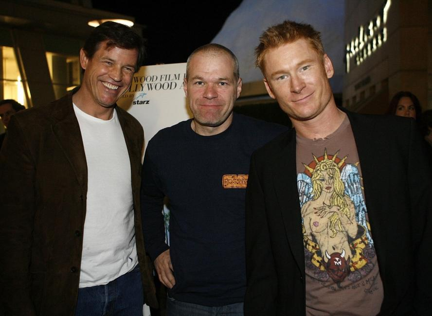 Michael Pare, director Uwe Boll and Zack Ward at the 2007 Hollywood Film Festival premiere of