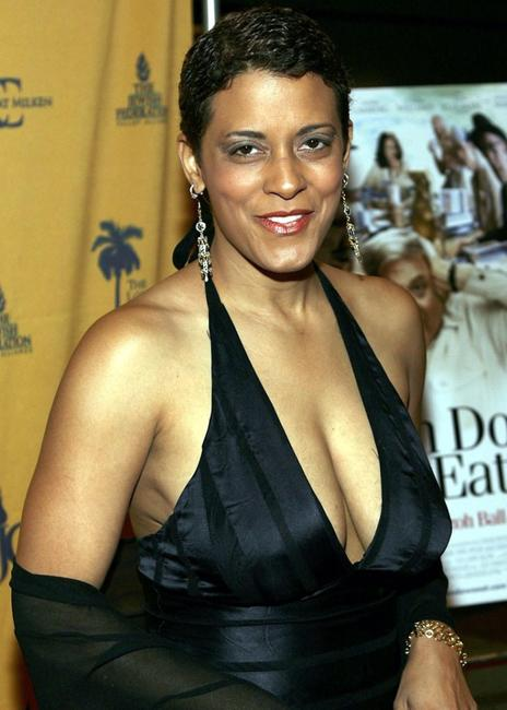 Cynda Williams at the premiere of