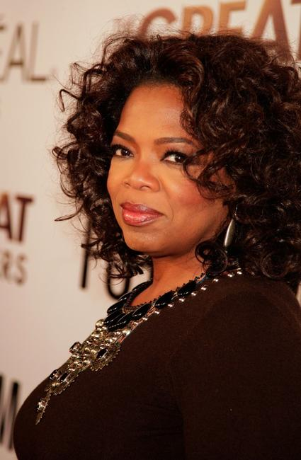 Oprah Winfrey at the Los Angeles premiere of