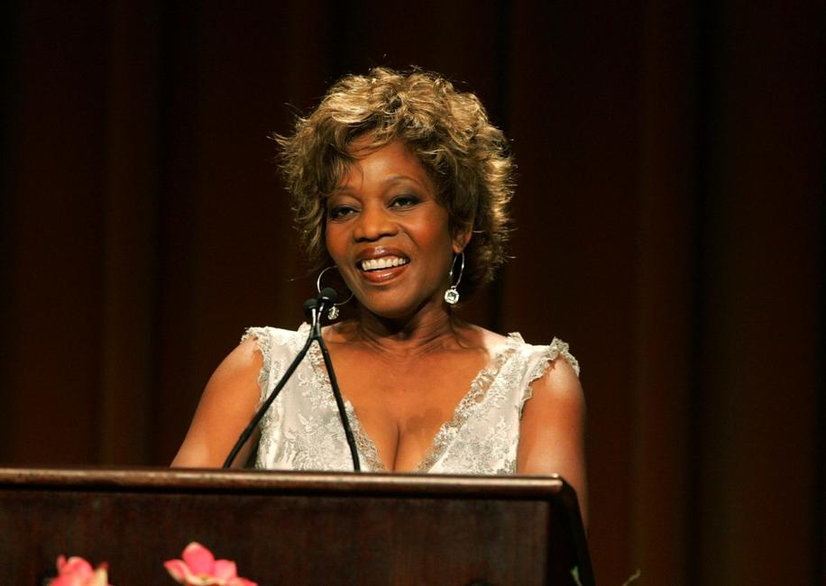 Alfre Woodard on stage at the Step Up Womens Networks 4th Annual Inspirational Awards held at the Beverly Wilshire Regency Hotel.
