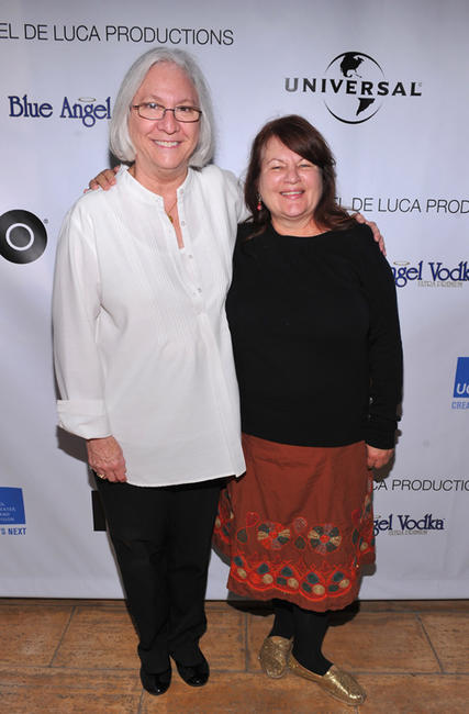 Teri Schwartz and Allison Anders at the 2011 UCLA Festival of New Creative Work in California.