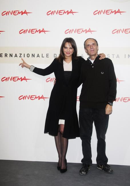 Dario Argento and Asia Argento at the 2nd Rome Film Festival.