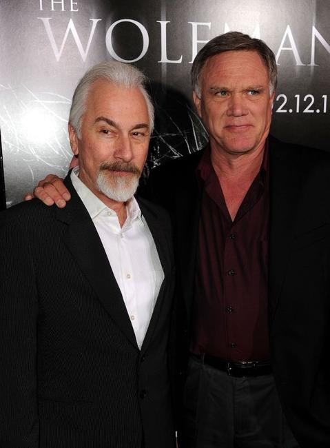 Rick Baker and director Joe Johnston at the Los Angeles premiere of