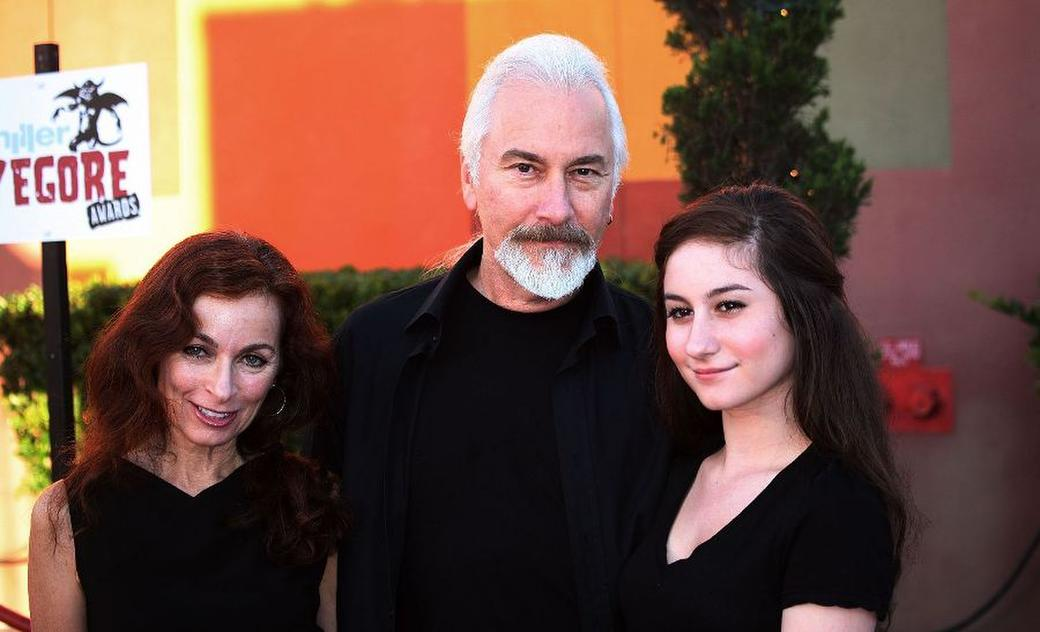 Rick Baker and Family at the Universal Studios Chiller Eyegore Awards Halloween Horror Nights Kick-Off.