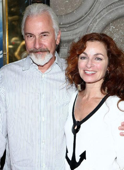 Rick Baker and his Wife at the world premiere of