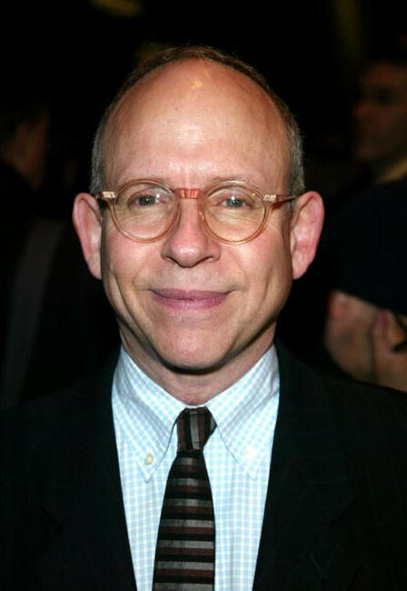 Bob Balaban and Sam Gores at the play opening of